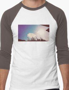 man in the cloud Men's Baseball ¾ T-Shirt