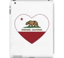 Riverside California Love Heart  iPad Case/Skin