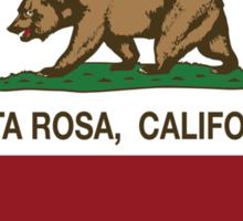 Santa Rosa California Love Heart  Sticker