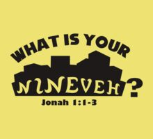 What is your Nineveh? Kids Clothes