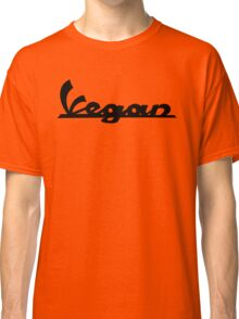 Vegan - Scooter logo-inspired (black logo) Classic T-Shirt