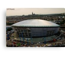 The Hydro - Construction Canvas Print
