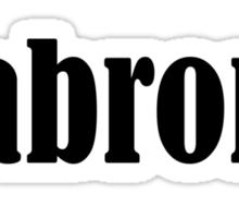 jabroni Sticker