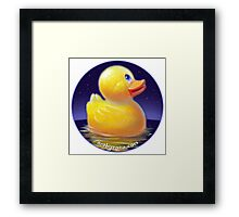 Escape from the Tub Framed Print