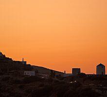 Aegean Sunset by Ian Mac