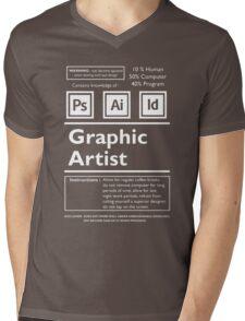 Graphic Artist Mens V-Neck T-Shirt