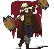 Harley Q. Bolton from Game of Heroes  by LeenaCruz