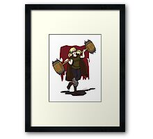 Harley Q. Bolton from Game of Heroes  Framed Print