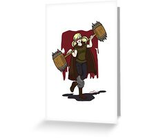 Harley Q. Bolton from Game of Heroes  Greeting Card