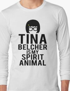 Tina Spirit Animal Long Sleeve T-Shirt