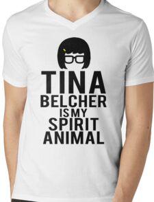 Tina Spirit Animal Mens V-Neck T-Shirt