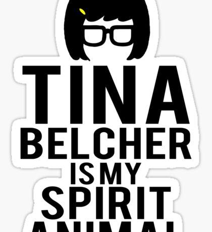 Tina Spirit Animal Sticker