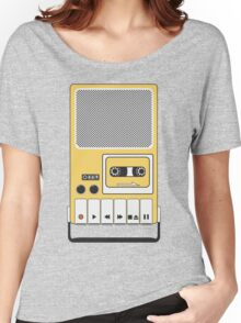 Portable Cassette Tape Recorder Women's Relaxed Fit T-Shirt