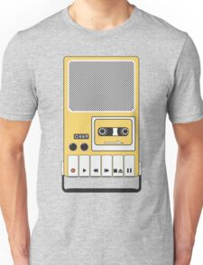Portable Cassette Tape Recorder Unisex T-Shirt