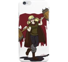 Harley Q. Bolton from Game of Heroes  iPhone Case/Skin