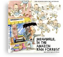 Amazon Rainforest Gump Canvas Print