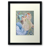 The Daughters of Neptune Framed Print