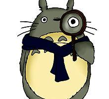 Sherlock x Totoro vers. 2 by sherlockedphan