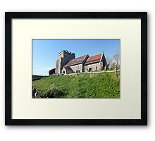 Church of St Peter, Hamsey Framed Print