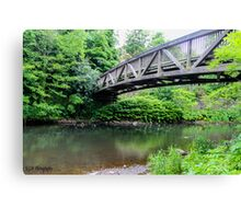 Bridge over troubled water Canvas Print