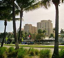 DOWNTOWN WEST PALM BEACH, FL  by FL-florida