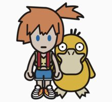 BFFs - Best Frienemies Forevers! Misty & Psyduck by dvdcartoonz