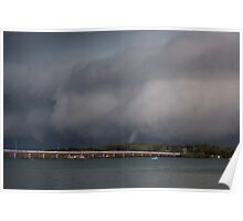 Waterspouts in Pumicestone Passage Poster