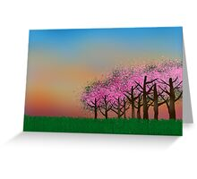 Cherry Orchard Card Greeting Card