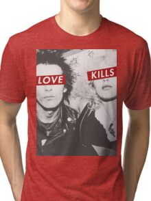 Love Kills - Sid & Nancy Tri-blend T-Shirt