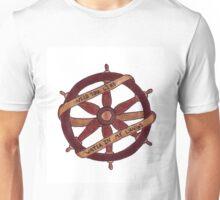Brand New Ship Wheel Design Unisex T-Shirt