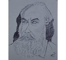 Johannes Brahms drawing Photographic Print