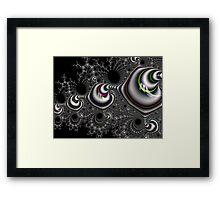 Mandlebrot fractal art Framed Print