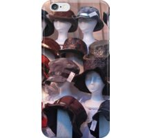 Hats at Market iPhone Case/Skin