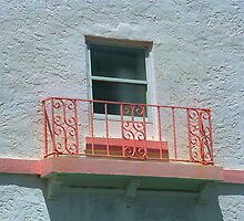 Miami Beach Balcony by Frank Romeo