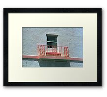 Miami Beach Balcony Framed Print