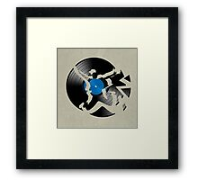 record Framed Print