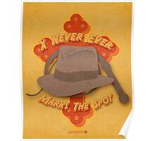 Indiana Jones Illustration Poster