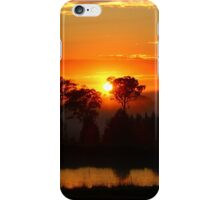 Misty Sunrise iPhone Case/Skin