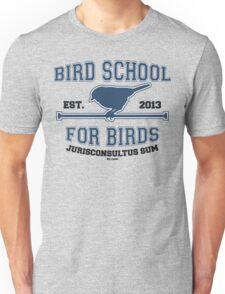 Bird School for Birds Unisex T-Shirt