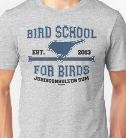 Bird School for Birds Unisex T-Shirt
