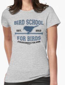 Bird School for Birds Womens Fitted T-Shirt