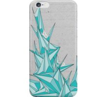 Geometric Floral Climb iPhone Case/Skin