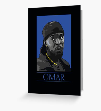Omar  Greeting Card