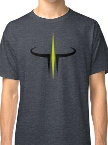 Green and Black Quake III Arena Classic T-Shirt
