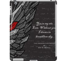 Breathless - The Premonition Series iPad Case/Skin