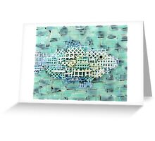 Ghost Net Greeting Card