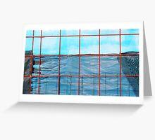 Shadecloth Sea Greeting Card