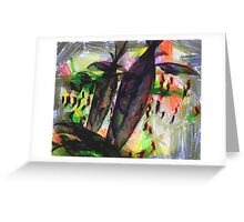 Projection of Sorrow Greeting Card