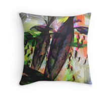 Projection of Sorrow Throw Pillow
