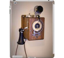 Antique Telephone iPad Case/Skin